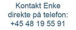 Enke A/S - direkte telefonnummer - for kabel- og ledningskonfektion